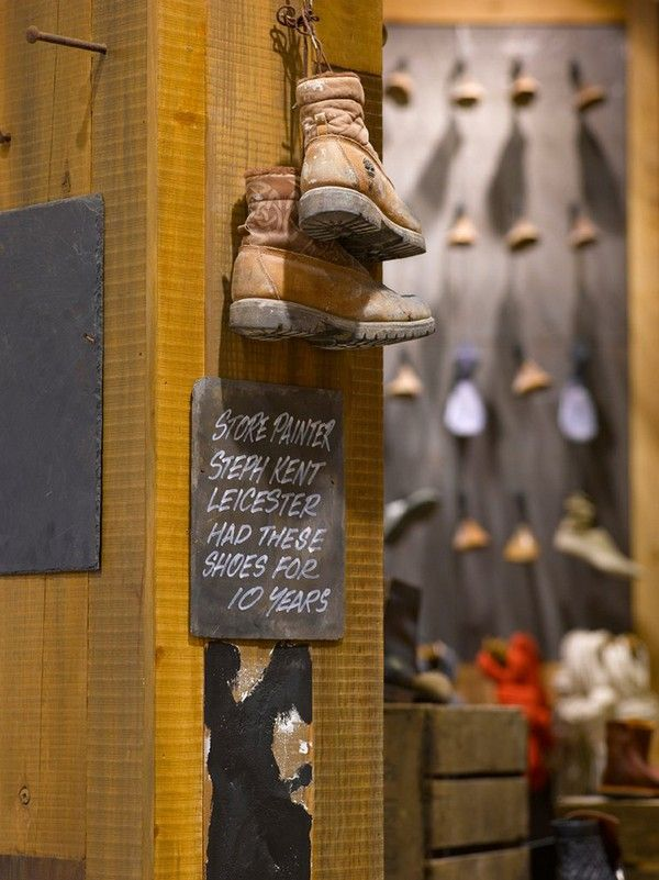 Timberland New Store in London Reflecting the Brand's Environmental Values