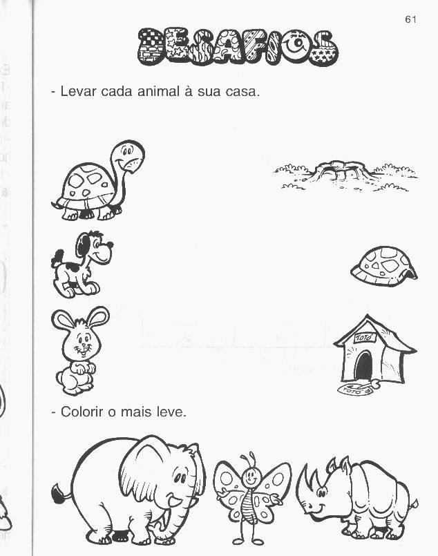 Atividades Didaticas Animais Atividades Sobre Animais Projeto