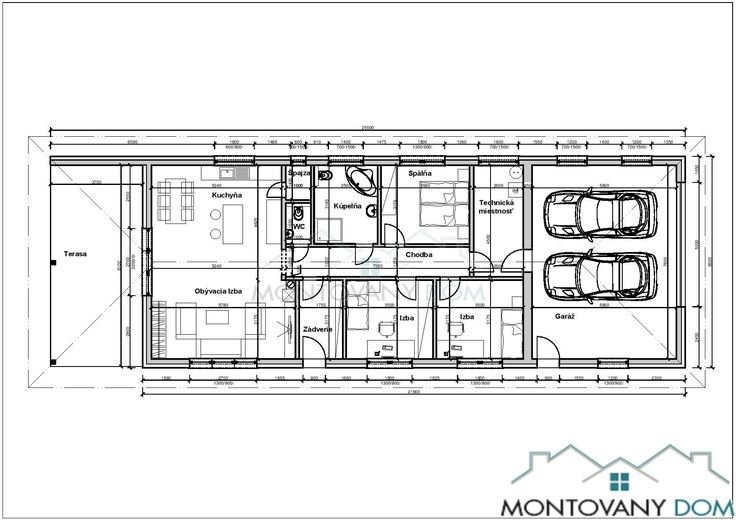 Bungalov Zlatica | Montovaný dom