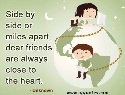 Long Distance Friendship Quotes For Whatsapp