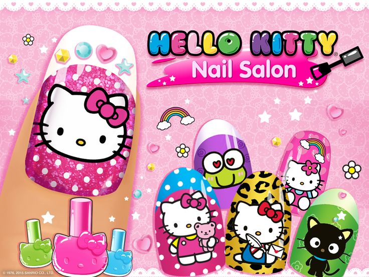 Hello Kitty Nail Salon - Android Apps on Google Play