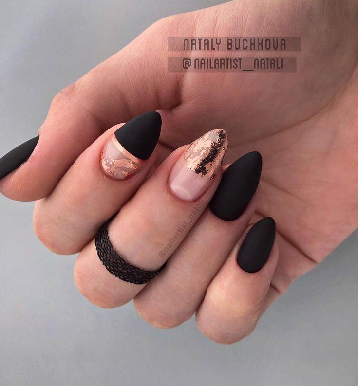 55 Classy Black Nail Art Designs – nails