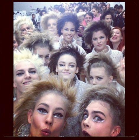 Cara Delevingne Chanel Instagram