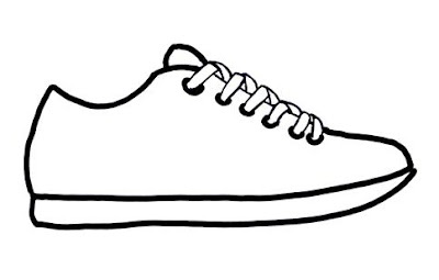 "Sneak into a New School Year -- Pt. 5 - Cute first day of school activity. Bring old pair of beat up sneakers to school.  Have students write about what the sneakers have been through. Could be a group activity with teacher recording the story. Could use this pattern to have students design ""school"" sneakers with built in tools like pencil sharpener, eraser soles, computer, calculator, etc Then write a story about thier ""school"" sneakers.  Itsabouttimeteachers"