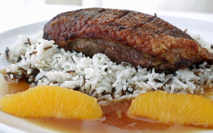 Duck a'la Orange – A Simple #Duck Breast Recipe: Unfortunately for ducks, I am a duck fan – that is I like eating duck. I really think it is one of the most superior tasting meats available. #TheCulinaryExchange