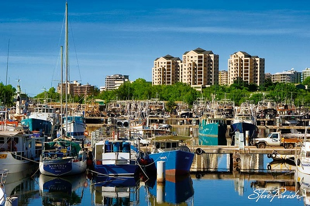 Frances Bay Mooring Basin, Darwin, Northern Territory Australia. I was in LOVE with this place