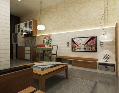 """Check out new work on my @Behance portfolio: """"Dago View Apartment"""" http://on.be.net/1IMWA6x"""