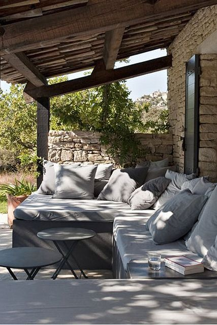 a country home in the provence by the style files, via | http://bedroom-gallery22.blogspot.com