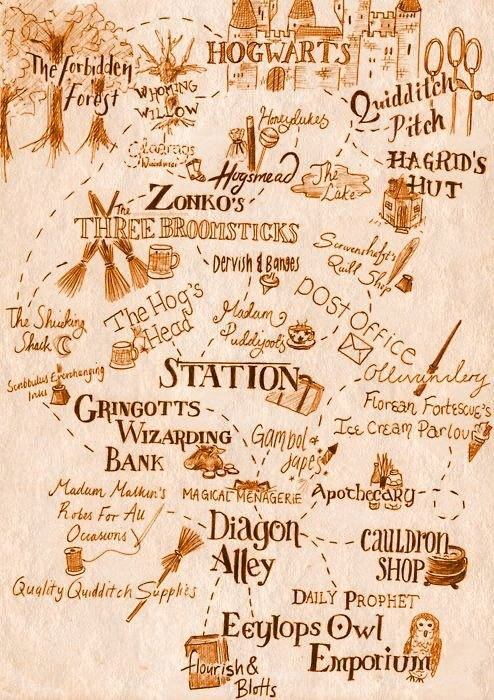 362 best images about Harry Potter - Hogwarts/Hogsmeade/Diagon ...