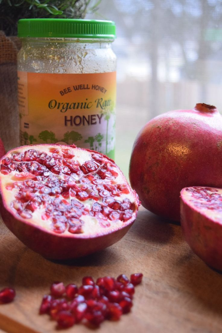 Pomegranate Infused Honey With Images Honey Recipes
