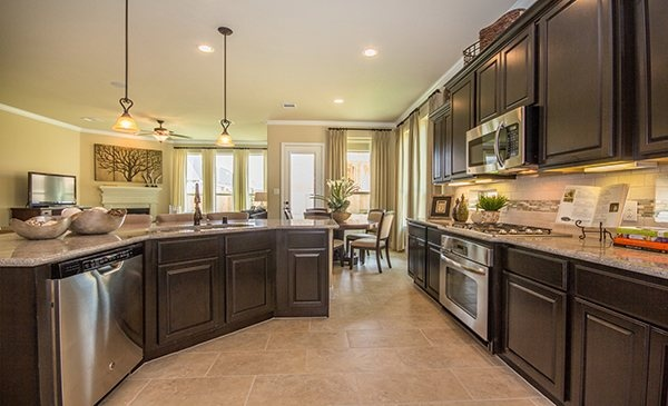 Luxury Kitchen By Lennar In Summerwood Brookstone And