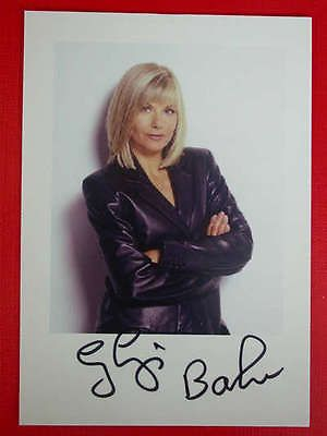 24157= Glynis Barber, Kino, Autogrammkarte 10x15, original handsigniert