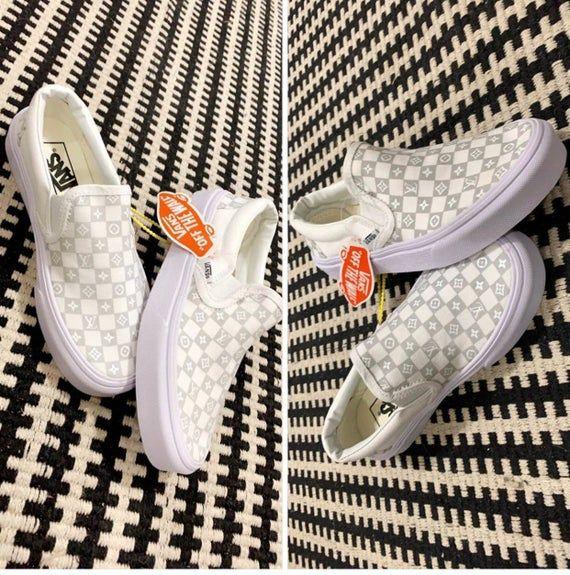 Louis Vuitton Inspired Custom Vans