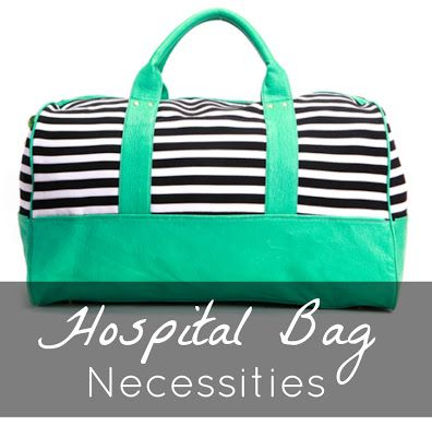 Hospital Bag Essentials for Him, Her, and Baby. This is exactly what I was planning on bringing when Emma is born :) plus some PJ's!!