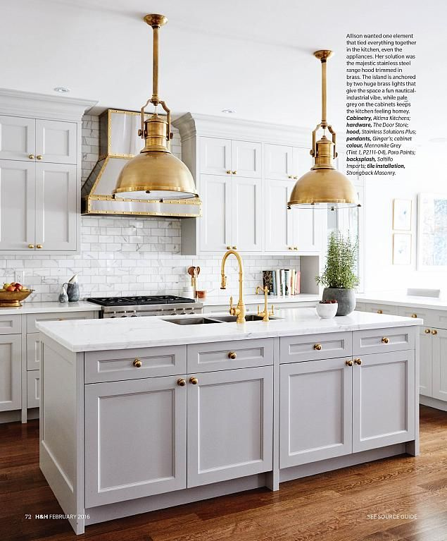House & Home February 2016 - Classic Kitchen