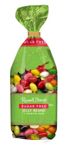 Russell Stover Sugar Free Jelly Beans, 7-Ounce Bags (Pack of 4) Right down the road from me!