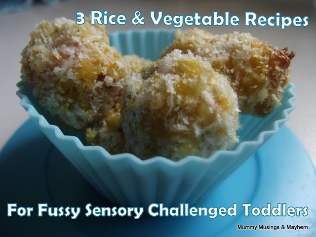 3 easy recipes for fussy toddlers and those with sensory challenges!Easy Recipe, Rice Recipes, Mummy Muse, Toddlers Dinner, Fingers Food, Toddlers Food, Vegetables Recipe, Sensory Challenges, Fussy Toddlers