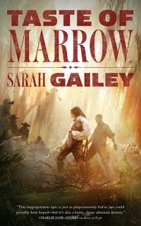 A Bookaholic Swede: #BookReview Taste of Marrow by Sarah Gailey (@gaileyfrey) (@torbooks)