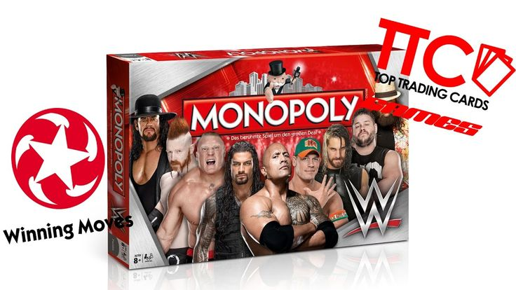 Monopoly WWE Wrestling - Video auf youtube