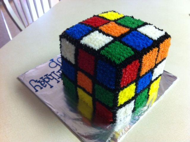 rubric cube cake - Google Search