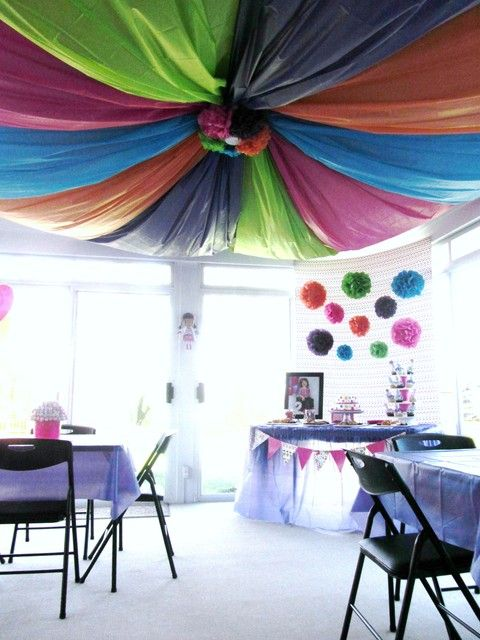 Top 128 Ideas About Plastic Tablecloth Decor On Pinterest