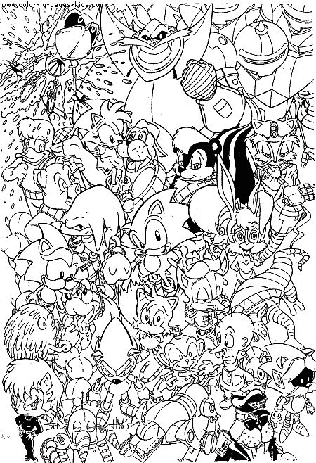 Print this sonic the hedgehog coloring sheet dream for Christmas sonic coloring pages