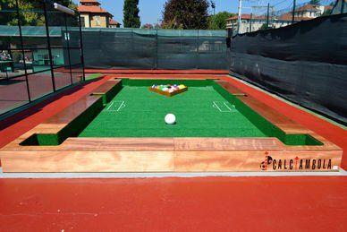 Fußball Billard - Soccer Pool - Outdoor Court, 26qm