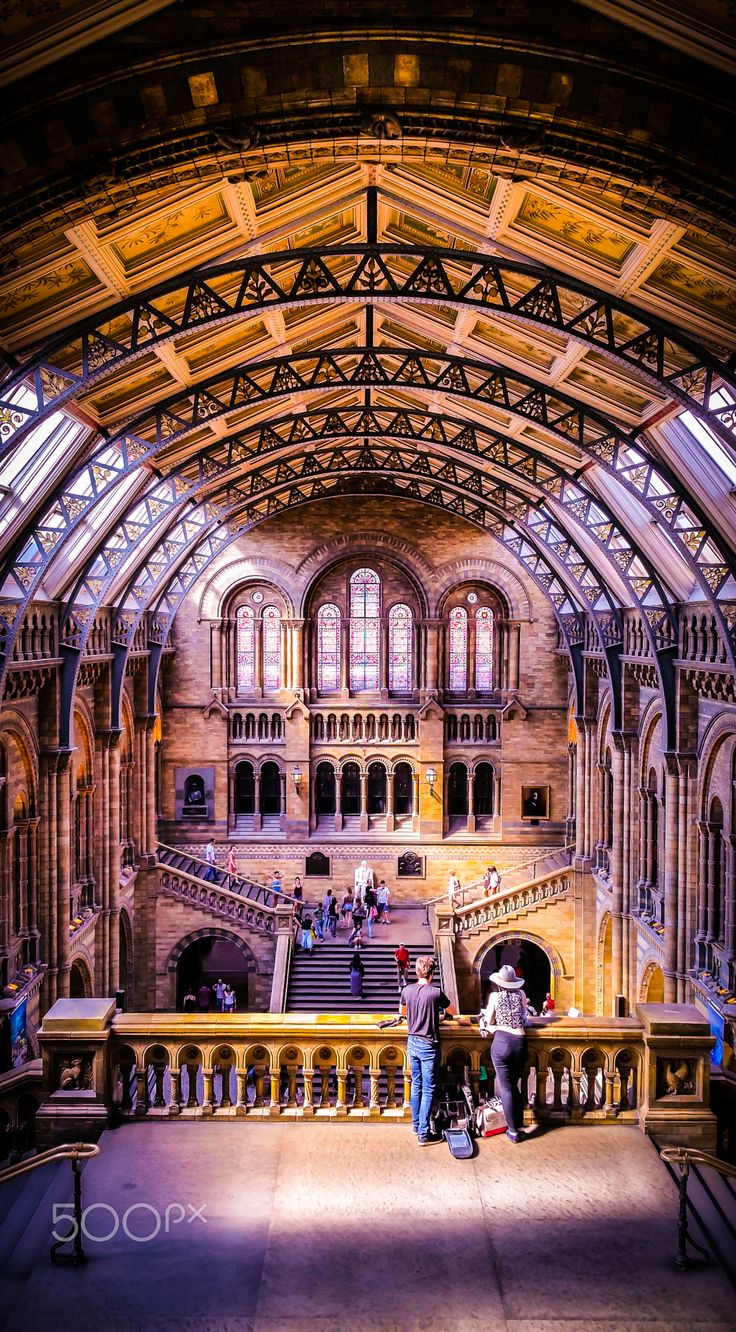 When I was in London, I visited the Natural History Museum. It is an absolutely stunning edifice and a world-renowned center of science and enlightenment. This picture I took in what I regard as perhaps the most beautiful room in the edifice; The Waterhouse building. This building is a London landmark and a work of art, and one of Britain's most striking examples of Romanesque architecture. It was project designed by Alfred Waterhouse, a young architect from Liverpool…
