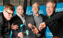 Jump On - is making a name for itself in the weekend travel business.  In addition to offering low fares, direct flights and convenient departure/arrival times - it's also winning awards - like the Innovation Award from the Calgary Chamber of Commerce - Kudos to you Jump On Flyaways!