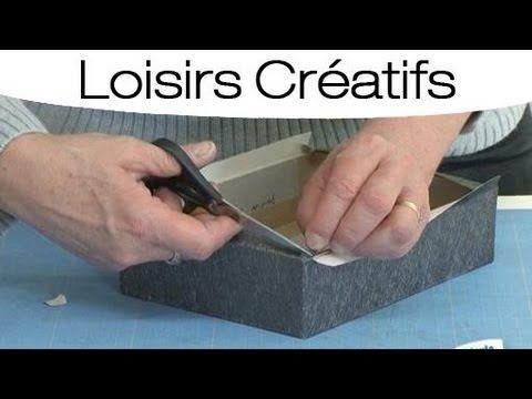 Comment fabriquer une boîte à bijoux et l'habiller ? - YouTube