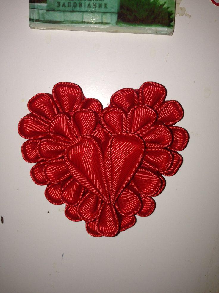 Открытке, открытки из лент на валентина