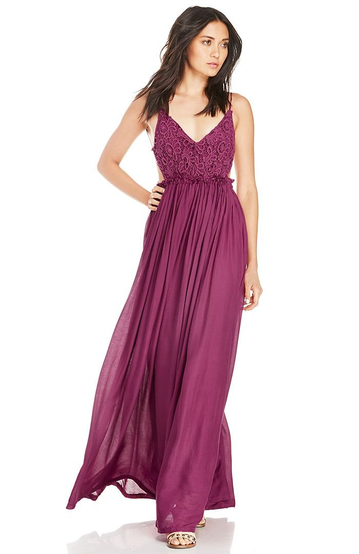I think this dress is so pretty. Love the color and style.
