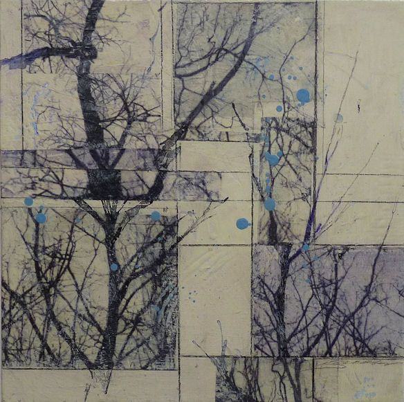 KAREN JACOBS, arbres series - Love this.
