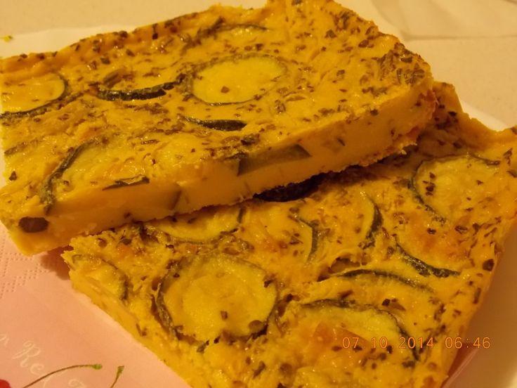 Frittata con Farina di Ceci al Forno http://www.sorrincucina.it/2014/10/28/frittatta-con-farina-di-ceci-al-forno/