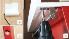 Wickeltischaufsatz für Ikea Kommode selberbauen – Schritt 5-7