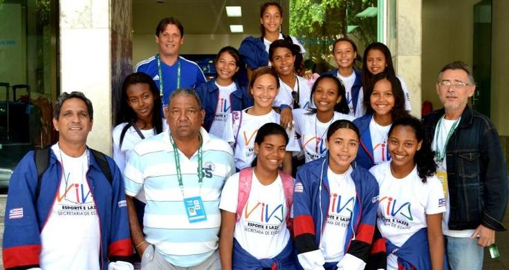 Olimpíadas MA participa das modalidades coletivas