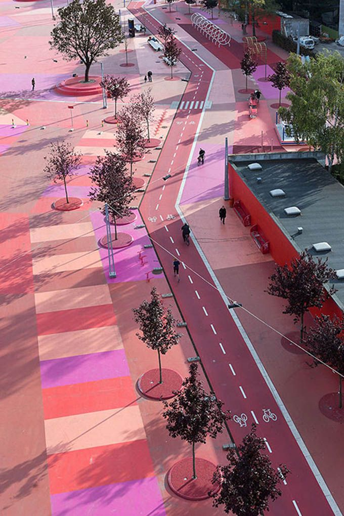 Copenhagen's Skuperkilen neighborhood won the Urban Design Award @ The Cool Hunter - Design