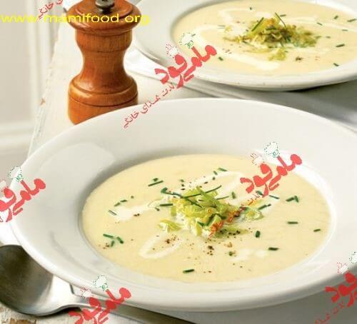 #سوپ_سیب_زمینی برای پیش غذا و میان وعده های شما بسیار مناسب است. بهترین طرز تهیه این سوپ خوشمزه را در سایت مامی فود بخوانید