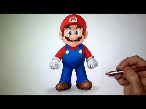 Comment dessiner Mario [Tutoriel]
