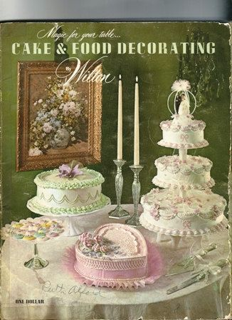 1970 Wilton Cake Decorating Book the Wiltons by TheIDconnection.  These were my first books.  I made my sister's wedding cake.  My daughter has become a wonderful cake decorater.