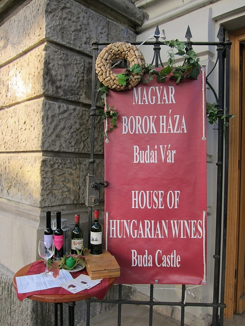 House of Hungarian Wine Casle of Buda BUDAPEST, HUNGARY