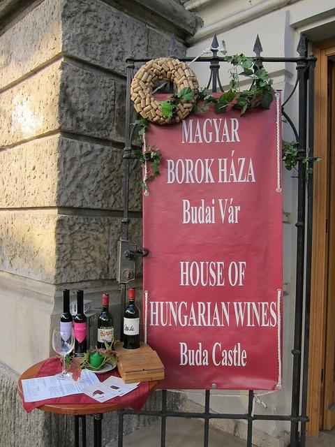 House of Hungarian Wine Casle of Buda BUDAPEST, HUNGARY