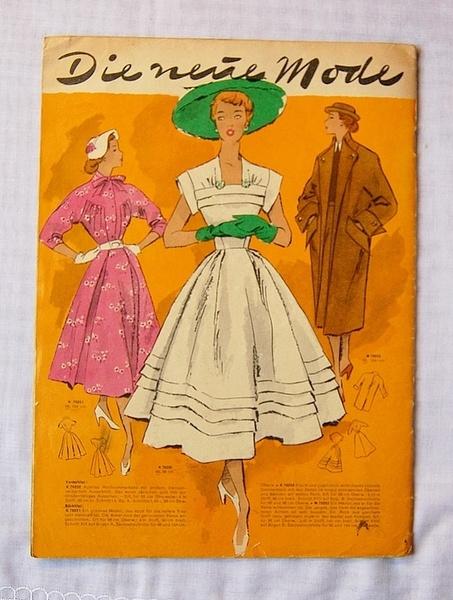 Schön 50er Jahre Schnittmuster   Neue Mode