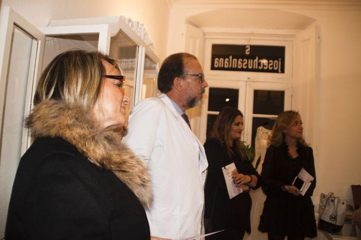 Presentación de colección, con Josechu Santana, Teresa Laso, Jana Tárrago y Begoña de Le Caprice.