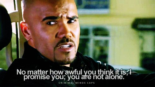 """17 Tiny Things The Writers Of """"Criminal Minds"""" Need You To Know.    Pinning this on this board for you Alexa! I found it online so I couldn't send it to you."""