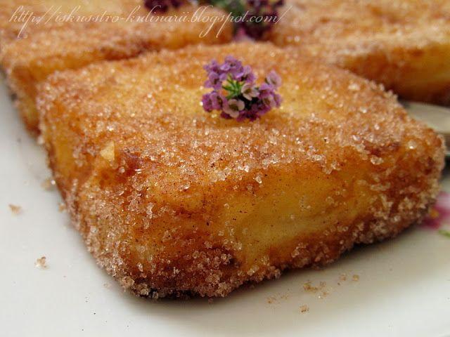 """Постигая искусство кулинарии... : Испанский десерт """"Жареное молоко"""" (Leche frita)"""
