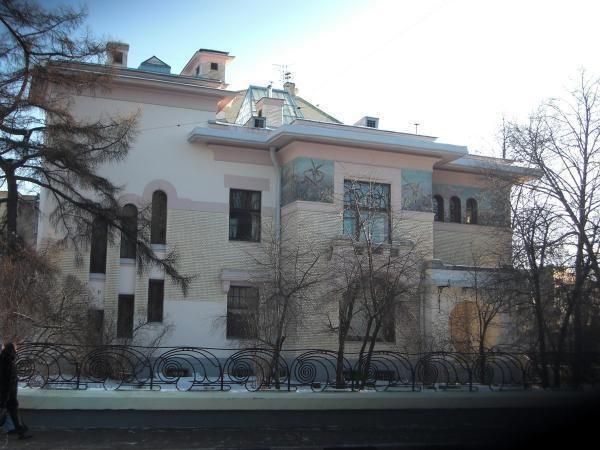 Pałac Riabuszyńskiego w Moskwie 1902-1906 Fiodor Schechtel