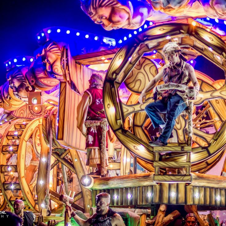The Taunton Carnival typically kicks off the winter season in Taunton.