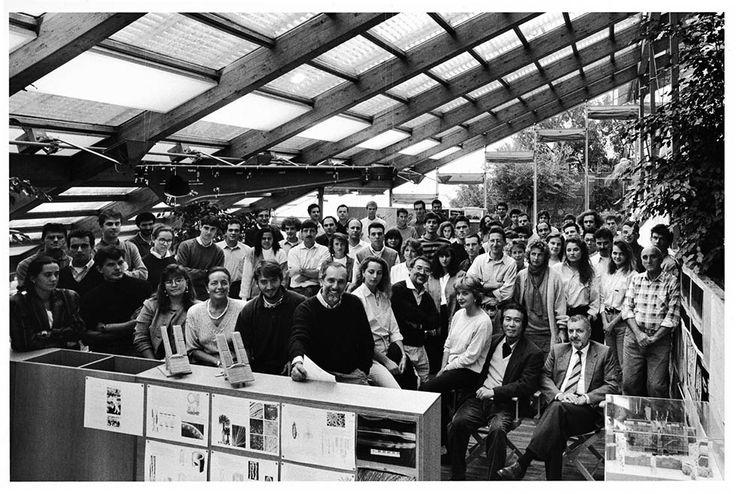 G. Berengo Gardin Renzo Piano e il suo studio, 1991