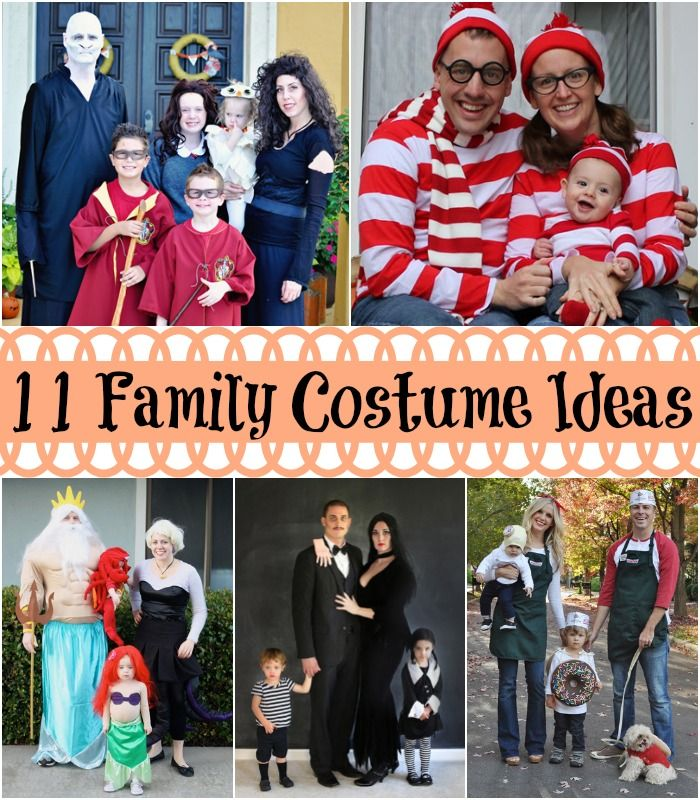 DIY family costumes everyone will love